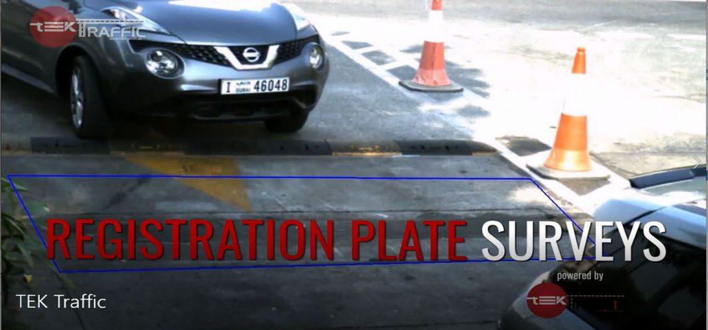 registration Plate Surveys